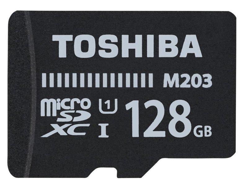 Toshiba 128gb M203 Class 10 MicroSD Card