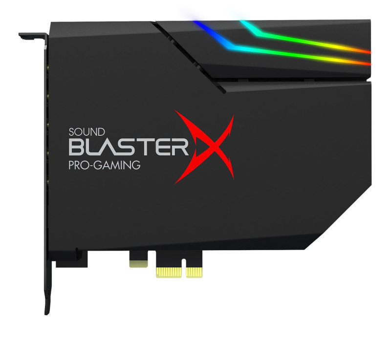 Image of Creative Sound BlasterX AE-5 (Black) Hi-Resolution PCIe Gaming Sound Card