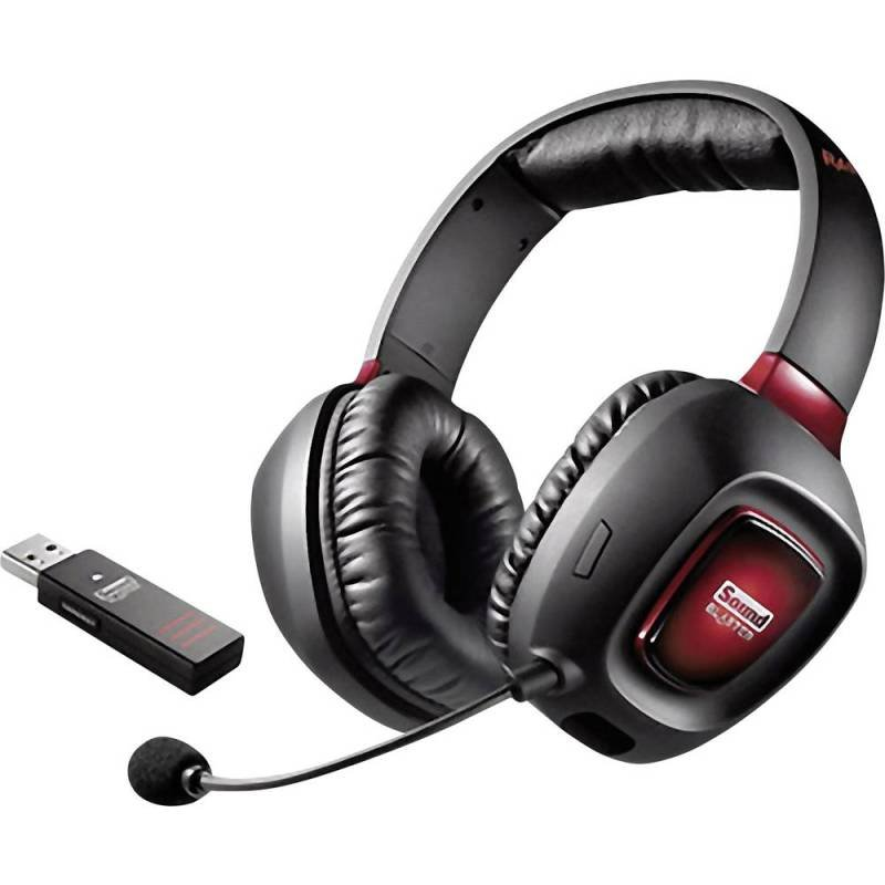 Sound Blaster Tactic3D Rage Wireless V2.0 Wireless Gaming Headset with Detachable Microphone