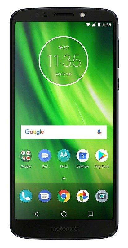 "Motorola g6 Play Indigo 32GB 5.7"" HD 4G LTE Android Smartphone - SIM Free"