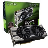 EVGA GeForce GTX 1070 Ti FTW ULTRA SILENT GAMING 8GB GDDR5 Graphics Card