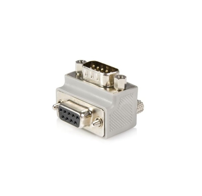 StarTech Right Angle BD9 to DB9 Serial Cable Adapter