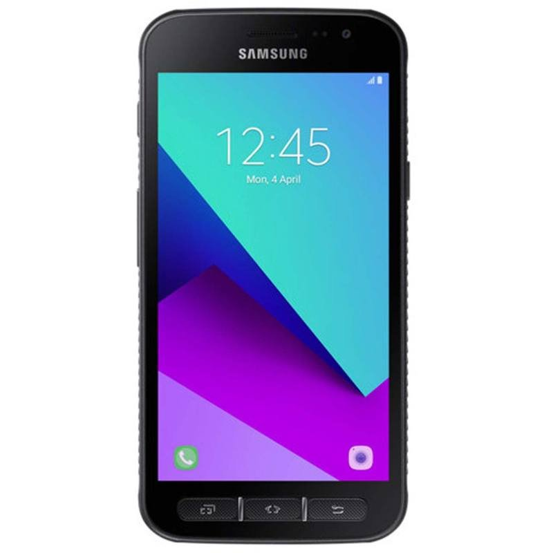 "Samsung Xcover 4 5"" 16GB Android Smartphone Unlocked & SIM Free - Black"