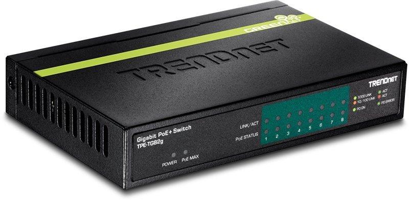 Tendnet 8-Port Gigabit PoE+ Switch