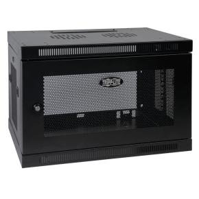 SmartRack 9U Low-Profile Switch-Depth Wall-Mount Rack Enclosure Cabinet