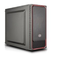 Coolermaster Masterbox E500L SI Red Trim Computer Case