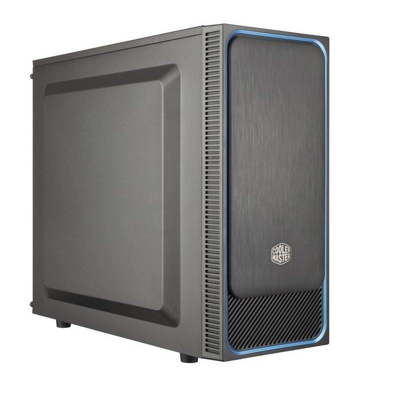 Coolermaster Masterbox E500L SI Blue Trim Computer Case