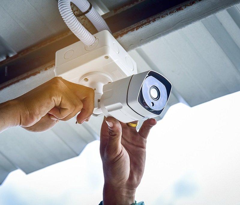 1 Camera Cctv Non Ip Installation Service