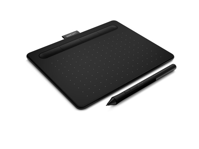 Wacom Intuos Pen Tablet - Incl. Wacom Intuos Stylus - Compatible with Windows & Apple - Small - Black