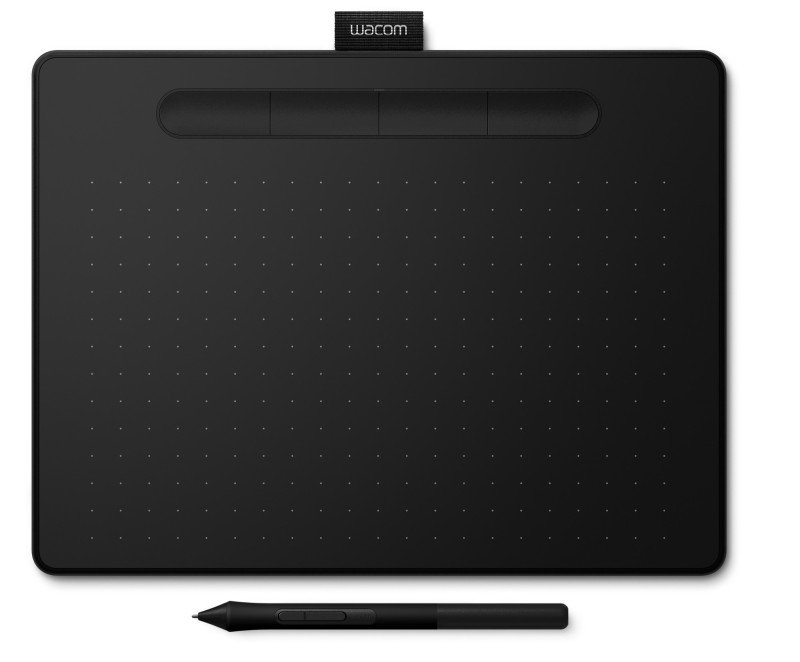 Wacom CTL-6100WLK-N Intuos Medium Pen Tablet with Bluetooth Black