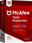 McAfee Total Protection 10 Devices 1 Year Subscription