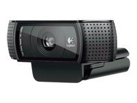 EXDISPLAY Logitech C920 USB HD Pro Webcam with Auto-Focus and Microphone