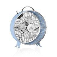 Swan SFA12630BLN 8 Retro Blue Clock Fan