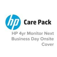 HP Electronic Care Pack 4 Year Next Business Day On site Hardware Support  - Monitors