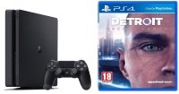 Sony 500GB Black PS4 with Detroit Become Human