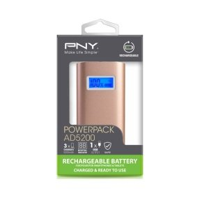 PNY PowerPack AD5200 Rose Gold