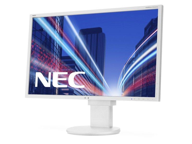 """NEC MultiSync EA224WMi LCD 22"""" White Monitor"""