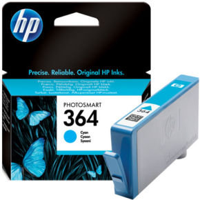 HP 364 Cyan Ink Cartridge - CB318EE