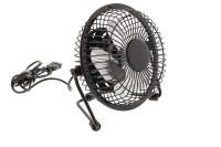 HQ Black Desk Fan USB powered 2.5W