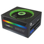 EXDISPLAY Game Max 850W Modular RGB Gold 80 Plus 14cm RGB Fan & Illuminated Logo