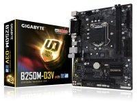 EXDISPLAY *Gigabyte B250M-D3V LGA 1151 DDR4 mATX Motherboard