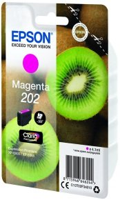 Epson Kiwi 202 Magenta Ink Cartridge