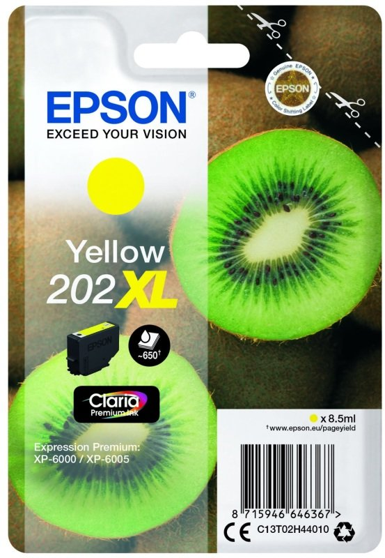 Epson Kiwi 202XL Yellow Ink Cartridge