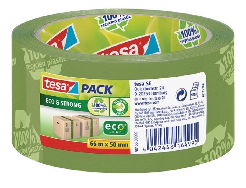 Tesa Eco Print PP Tape 50mmx66m GN PK6