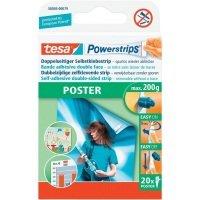 Tesa Powerstrips Poster Strips PK20