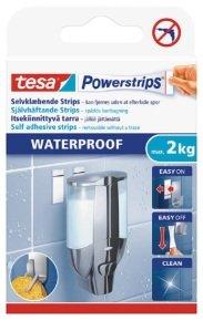Tesa Waterproof Powerstrips Large PK6