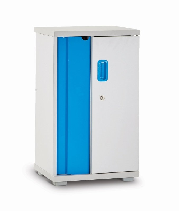 Lapcabby Lyte Single Mini 10 Device Charging Cabinet With Single Locking Door