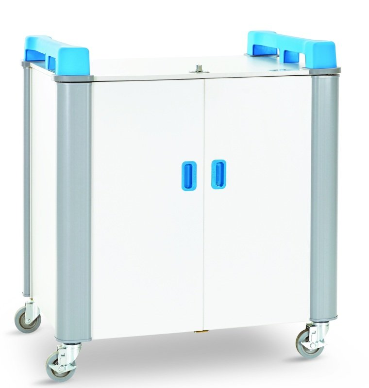 LapCabby 32V Port Mini Trolley - Store & Charge Only