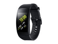 Samsung Gear Fit2 Pro - Activity tracker with strap - elastomer - 155-210 mm - 1.5 - L - 4 GB - Wi-Fi, Bluetooth - 34 g - black