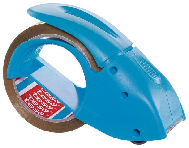 Tesa Hand Packaging Tape Dispenser Blue