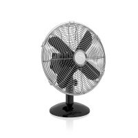 Swan Sfa12620bn 12 Retro Black Desk Fan
