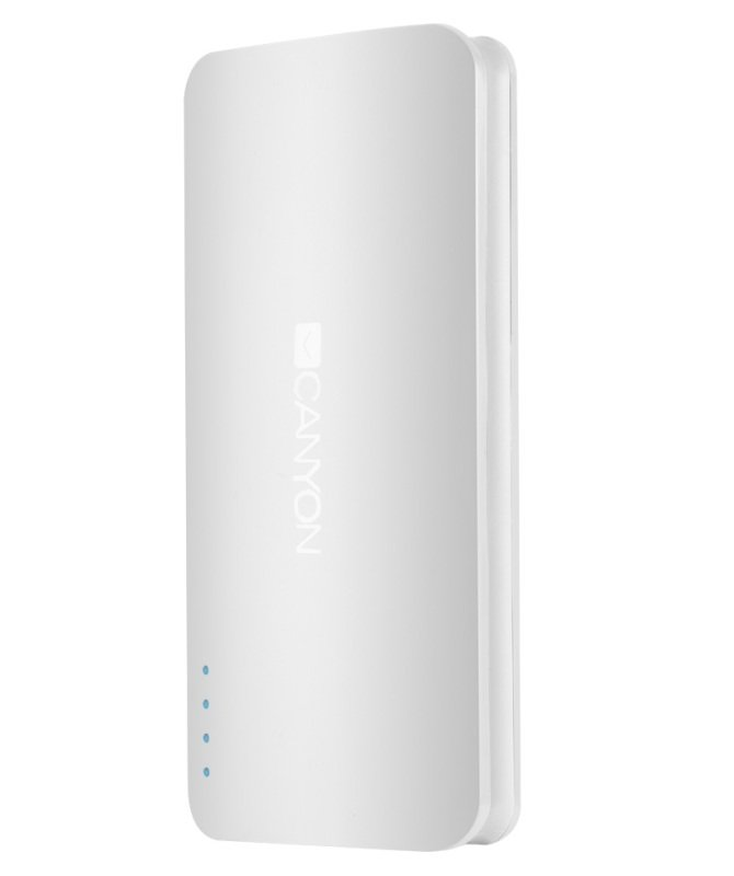 Canyon 13,000mAh Ultra Capacious Power Bank White