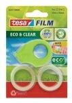 Tesafilm E&C Disp GN w/2 rolls 19mmx10m