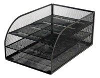 Osco Mesh 3 Tray Assembled Trays Black