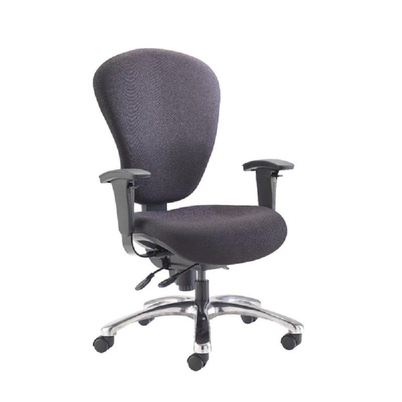 Avior Sphere Extra Heavy Duty Task Chair Black