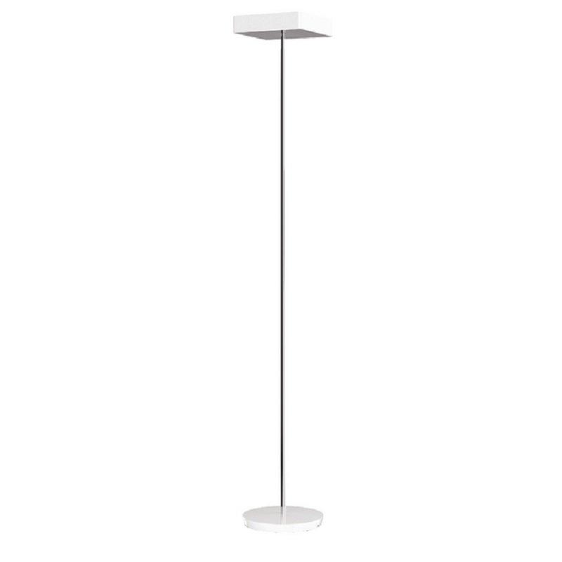 Alba Fluosquare Floor Lamp White