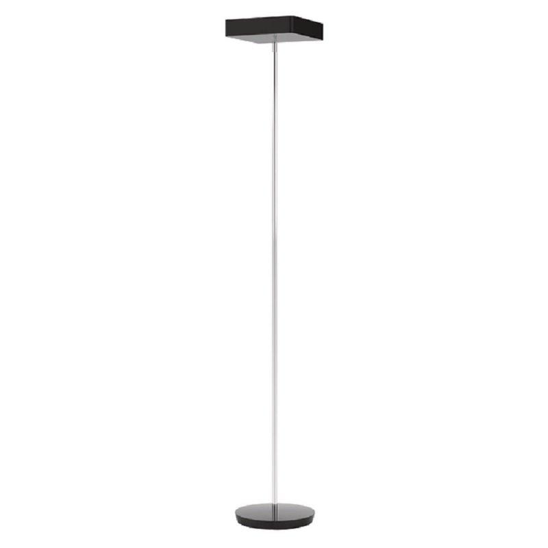 Alba Fluosquare Floor Lamp Black
