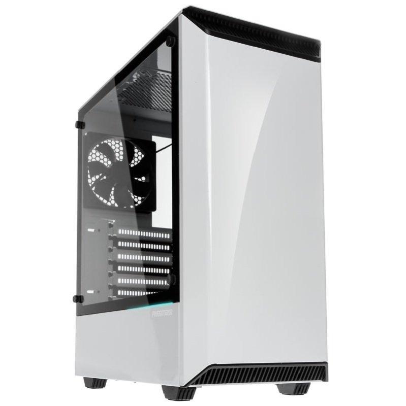 Phanteks Eclipse P300 Glass Midi Tower Case - White