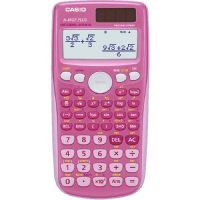 Casio FX-85GTPLUS-PK Twin-Powered Scientific Calculator (Pink)