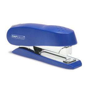 Rapesco Luna Half Strip Front Loading Stapler (blue)