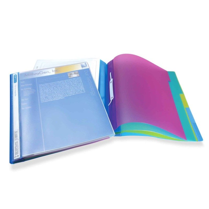 Rapesco Assorted A4+ Project File Assorted (Pack of 5)