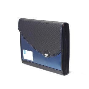 Rapesco Blue Designer A4+ Expanding File 7-Part Polypropylene
