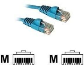 C2G, Cat5E 350MHz Snagless Patch Cable Blue, 1m