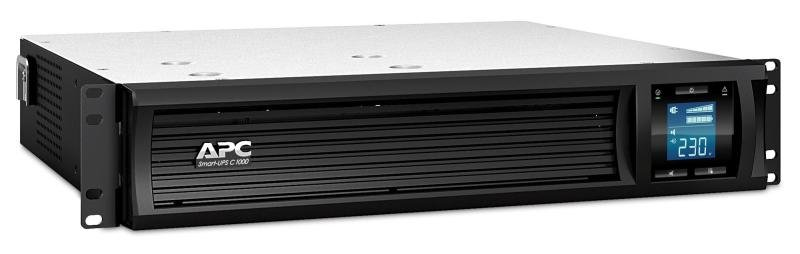APC Smart-UPS C 600 Watts/1000 VA 2U Rack mountable LCD 230V
