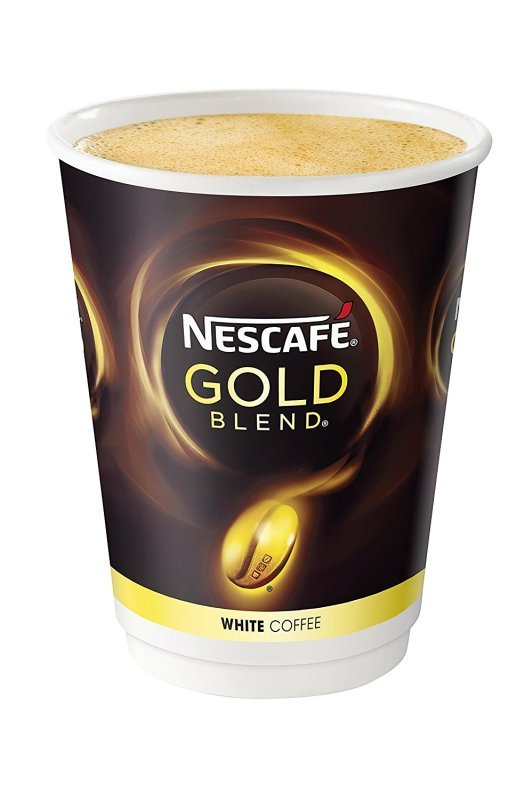 Nescafe and Go Gold Blend White Coffee (Pack of 8)