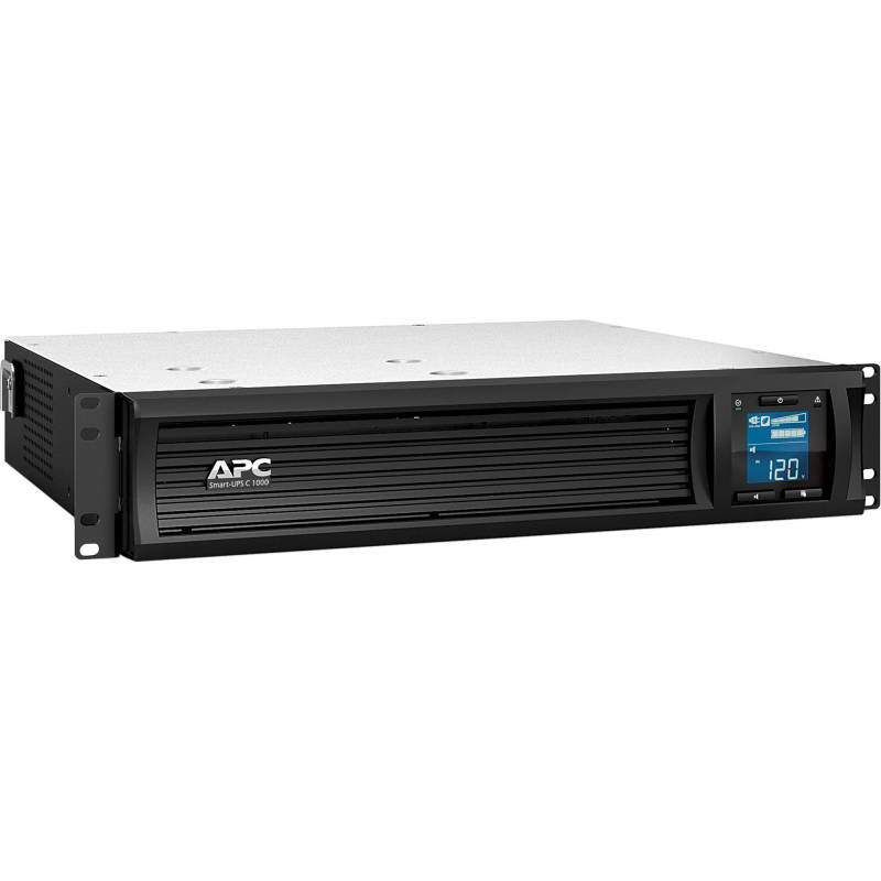 APC Smart-UPS C 1000VA 2U LCD 600 Watt / 1000 VA Rack-mountable with APC SmartConnect